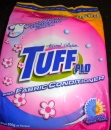 TUFF powder laundry detergent